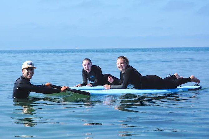 Fun and experienced surf instructors!