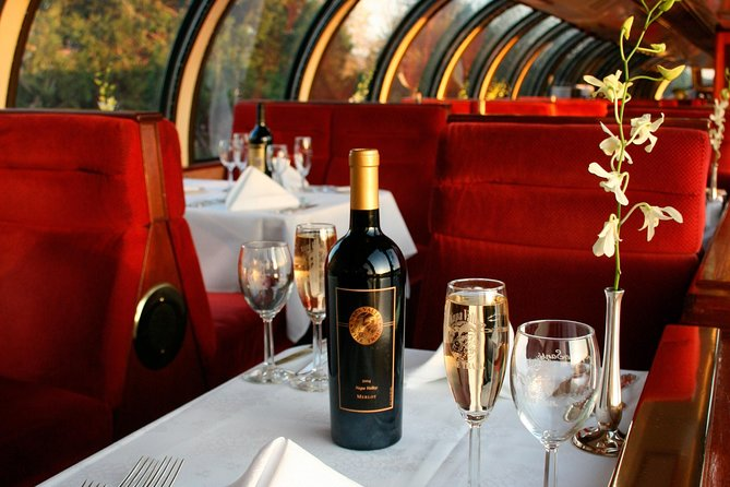 Napa Valley Wine Train Vista Dome Dinner Car