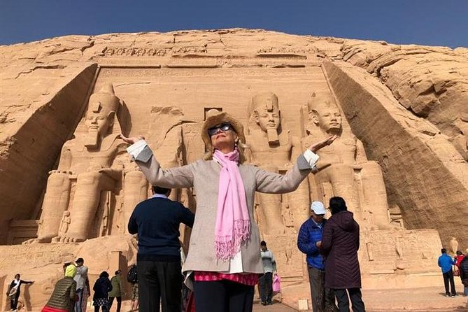 Enjoy 4 Days Nile Cruise luxor.Aswan.abu simbel with Train Tickets from Cairo