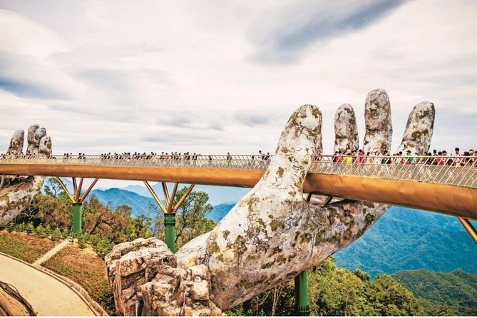 Golden Bridge in both hands daily group trip with guide
