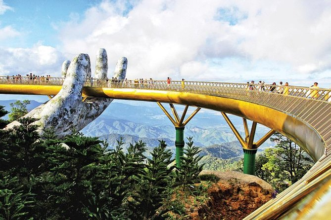 Ba Na Hills & Golden Bridge Day Tour from Da Nang