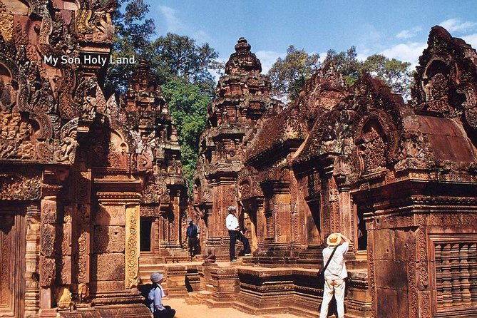 Half day tour to My Son Sanctuary with a guide and driver
