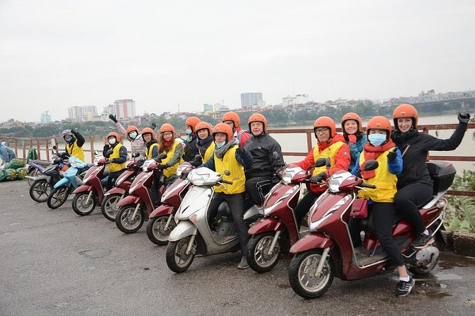 Hanoi Backstreets Motorbike Tours Half Day City