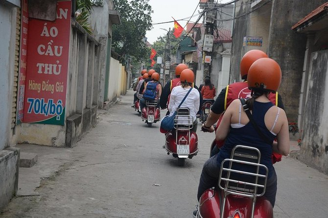 Hanoi Red River Delta Villages Vintage Vespa Tours photo 9