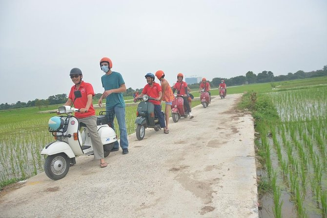 Hanoi Red River Delta Villages Vintage Vespa Tours photo 3