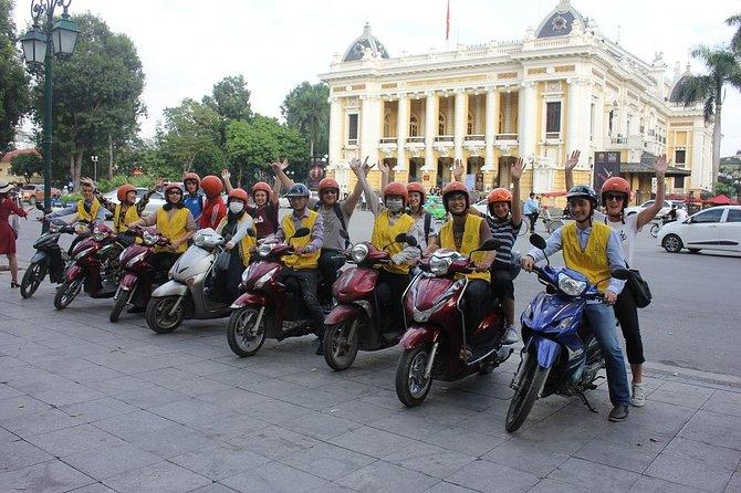 Hanoi Backstreets Sunset Motorbike Tours