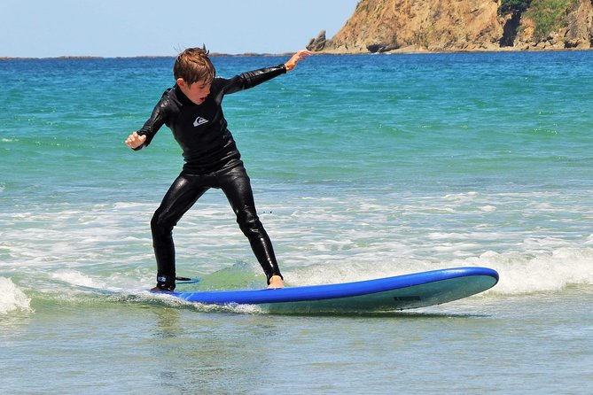 Beginner Surf Lesson at Omaha Beach