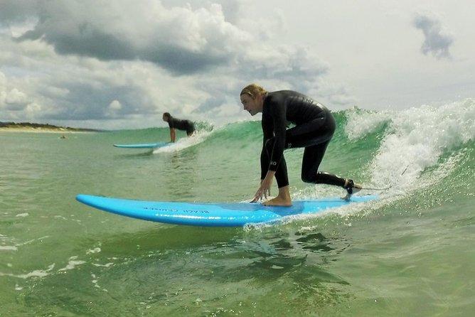 Beginner Surf Lesson at Omaha Beach