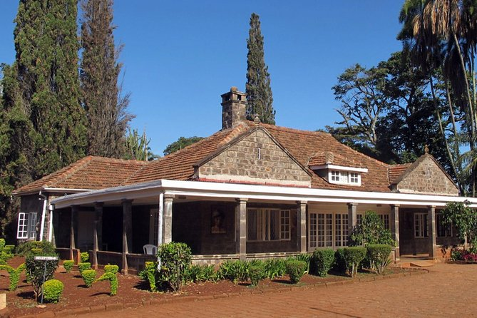 Half Day Karen Blixen Elephant Orphanage Giraffe Center And Souvenior Shopping
