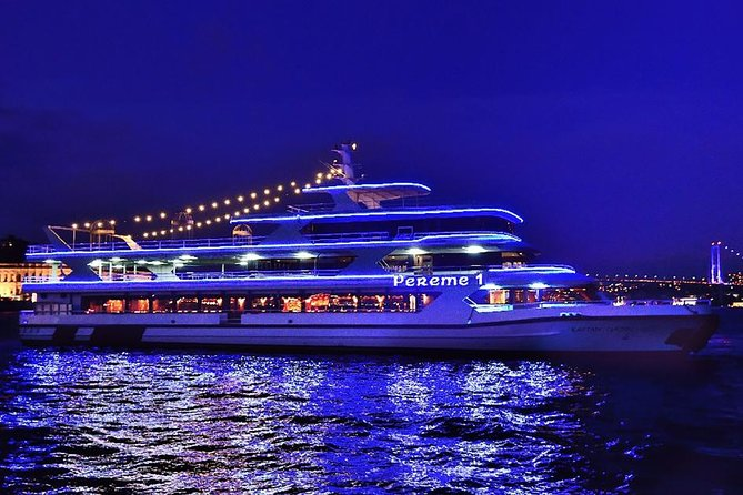All Inclusive Bosphorus Dinner Cruise with Turkish Night Show in Istanbul