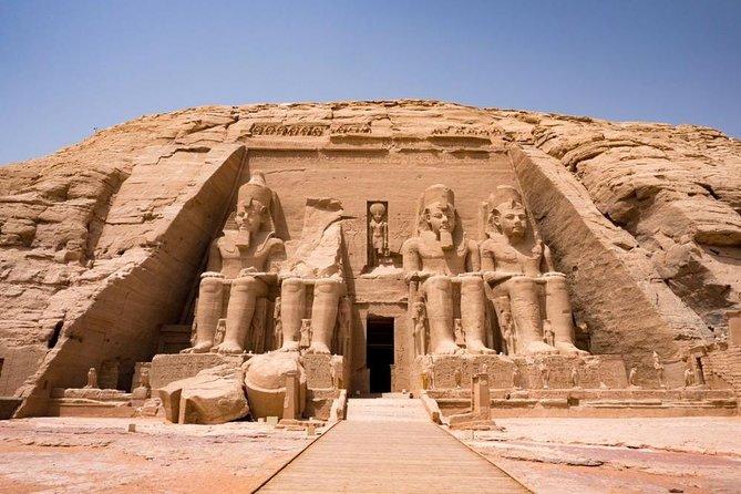 Abu Simbel Flight and Tour from Aswan