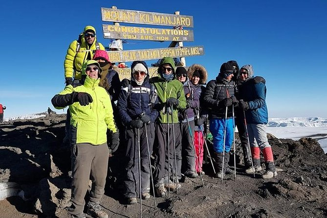 Kilimanjaro trekking - Machame route 7 days
