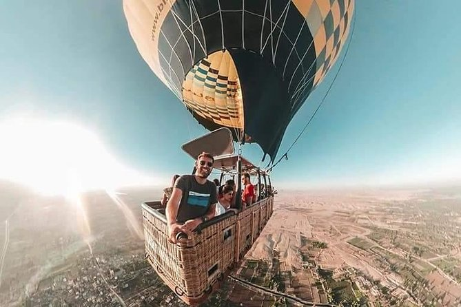 Sunrise Hot Air Balloon Ridding in Luxor