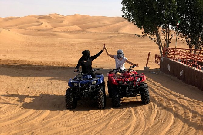Dubai: Unique EVENING Quad Bike Safari