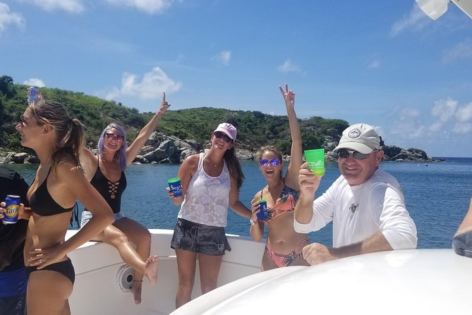 Private Power Catamaran USVI & BVI including Beach and Snorkel