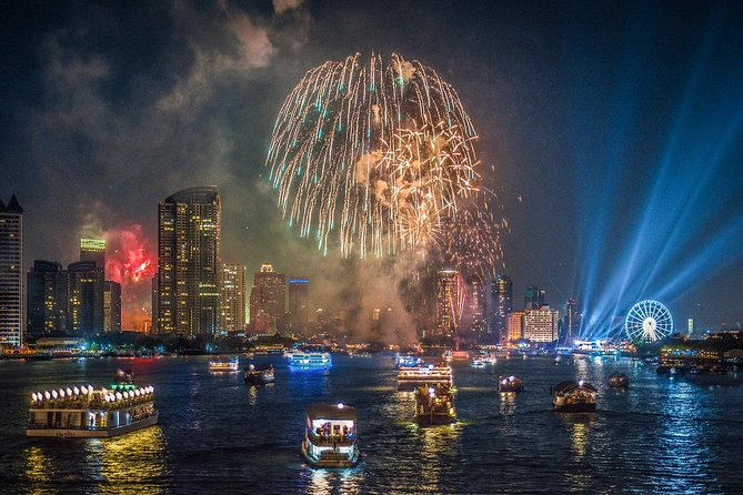 New Year Party : Chao Phraya Princess Dinner Cruise with Return Transfer