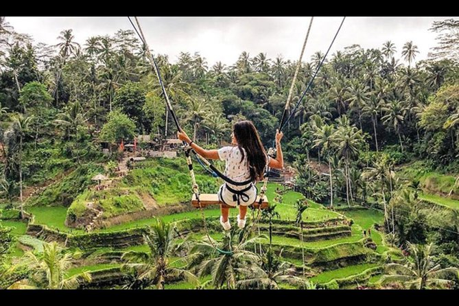 Bali: Swing And Ubud Tour