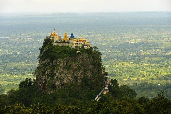 Full day Adventure Trip to Mt. Popa & Salay