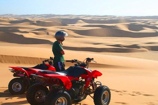Morning Desert Safari With Quad Biking, Camel Riding and Dune Bashing