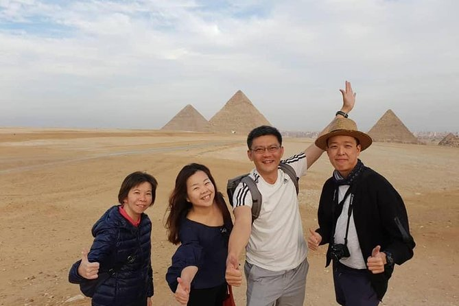 Long layover Tour to Pyramids & Cairo Museum From Cairo airport