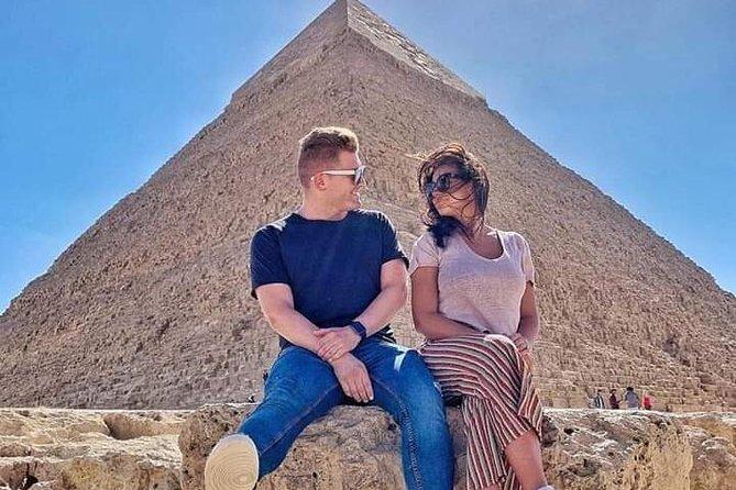 Day tour to Pyramids,Sphinx,Memphis City and Sakkara Pyramids & including lunch