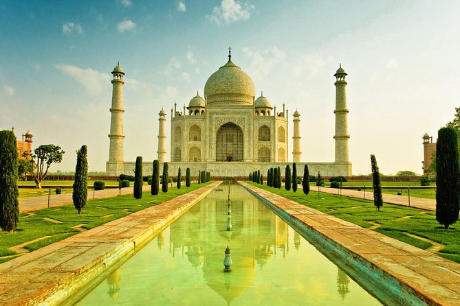 Magnificent Taj Mahal and Agra Fort Trip from Delhi by Rail photo 1