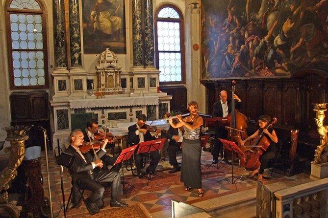 Dîner à Venise et concert au billet du palais de la prison