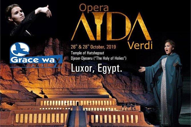 Opera Aida show in Luxor 2019