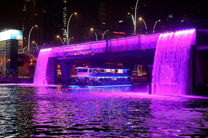Dhow Cruise Dinner at Canal From Dubai