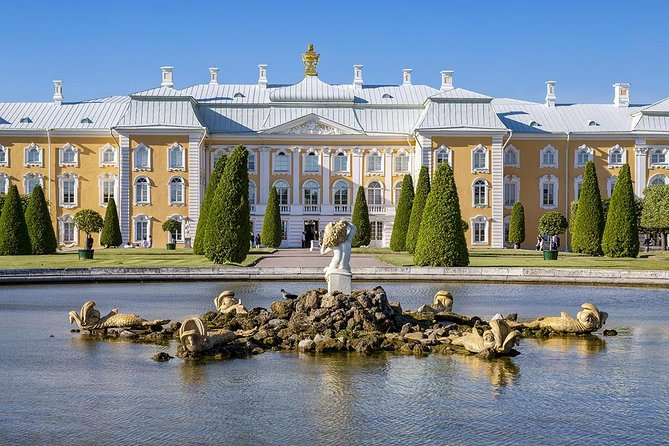 See the World's Biggest Fountain and Gardens Complex (Private Tour by car)
