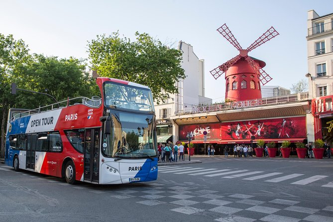 Open Tour Paris: Hop on Hop off Sightseeing Tour + Seine River Cruise