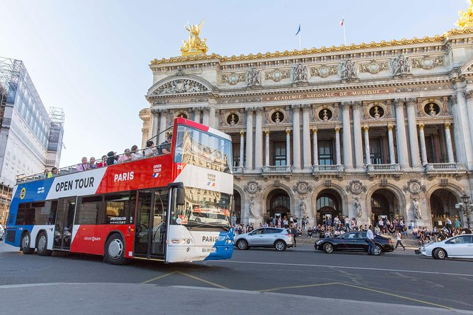 Open Tour Paris: Hop on Hop off Sightseeing Tour Family Pass