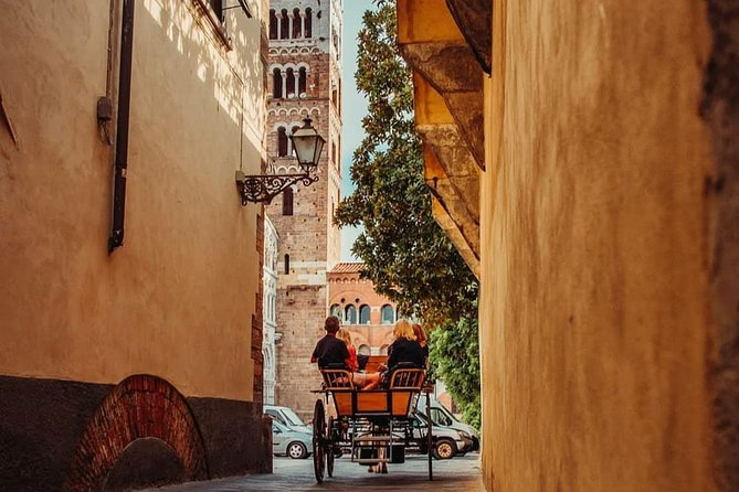 Carriage tour in the historic center of Lucca