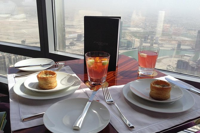 DINE experience at Burj Khalifa with DISCOVER DUBAI by NIGHT