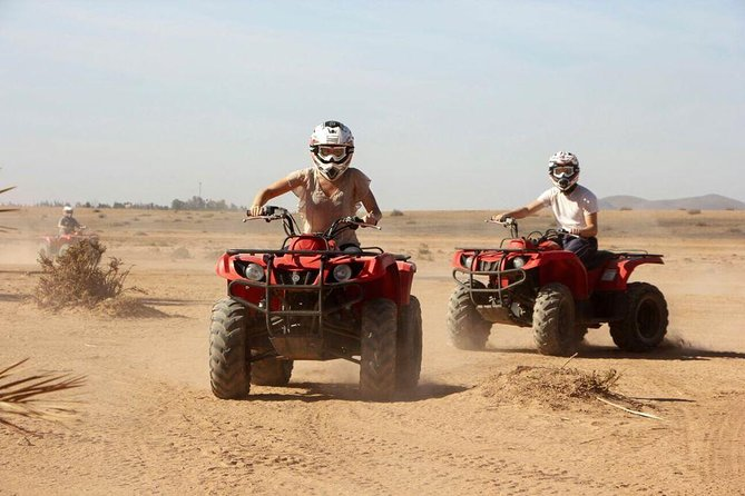 Marrakech Desert Quad Biking and Camel Ride with Teak Break photo 3