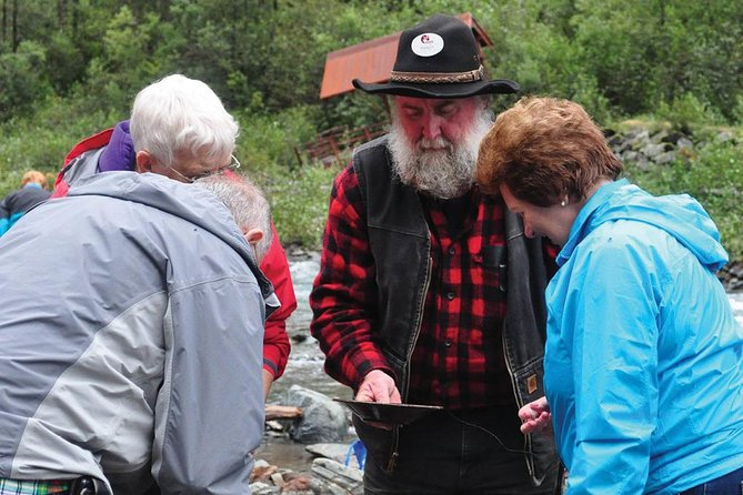 Historic Gold Panning and Salmon Bake