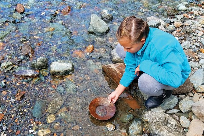 Historic Gold Mining and Panning Adventure
