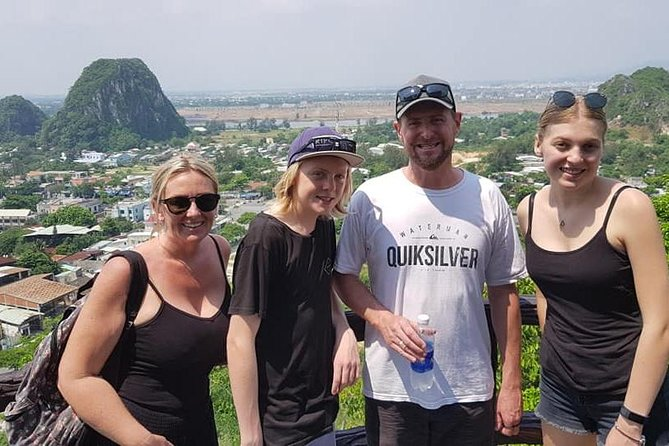 PrivateTour to Marble Moutain&Hoi An Ancient City,Delicious Dinner &Night Market