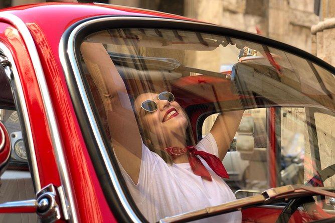 Visit Rome by vintage Fiat