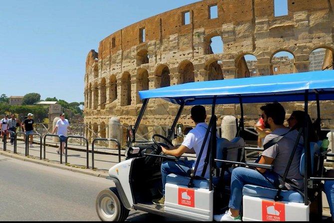 Golf Cart Tour Rome