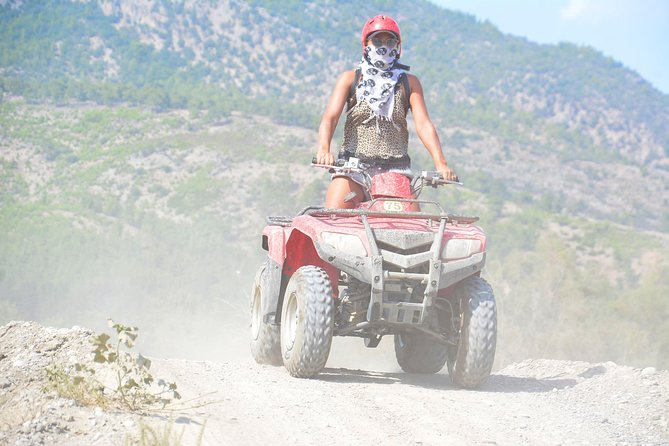 quad bike safari in side turkey