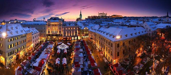 Magic Christmas Tour in Bratislava