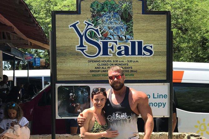 YS Falls, Appleton Rum Tour, Black River Safari and Floyd's Pelican Bar