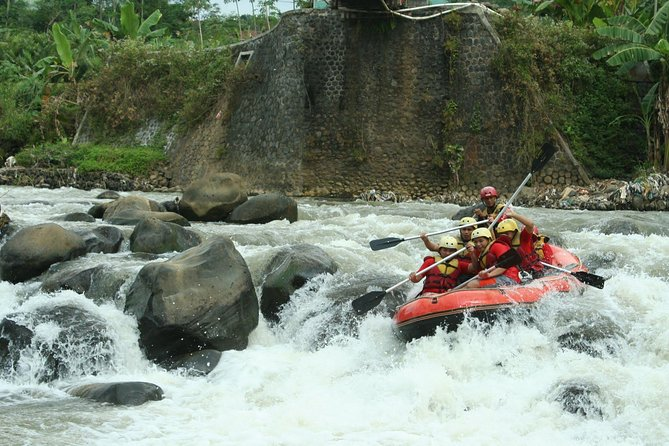 White Water Rafting at Telaga Waja