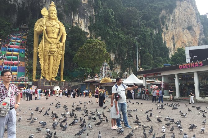 Sub-urban Batu Caves and Royal Selangor Tour