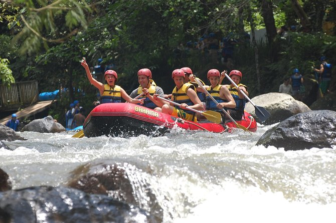 Rafting and Swing activity in Bali