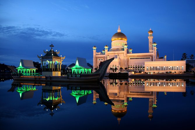Brunei By Night Tour & Traditional Dinner
