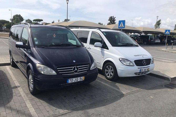 Transfer from Faro airport to Armaçao de Pera