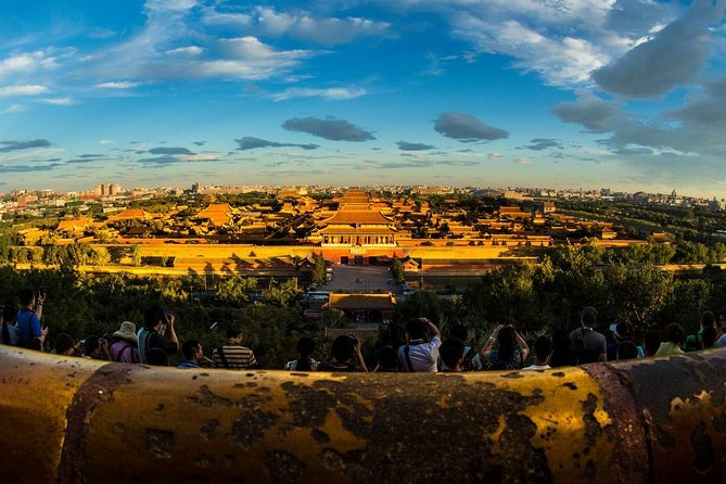 Forbidden City Bird's View on Jingshan Park and Hutong Walking Private Tour