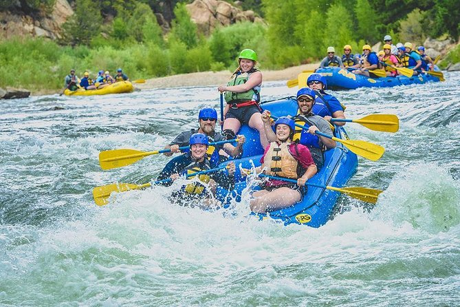 Numbers Half-Day Whitewater Rafting from Buena Vista
